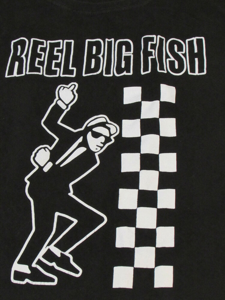 reel big fish ska concert tour shirt ebay