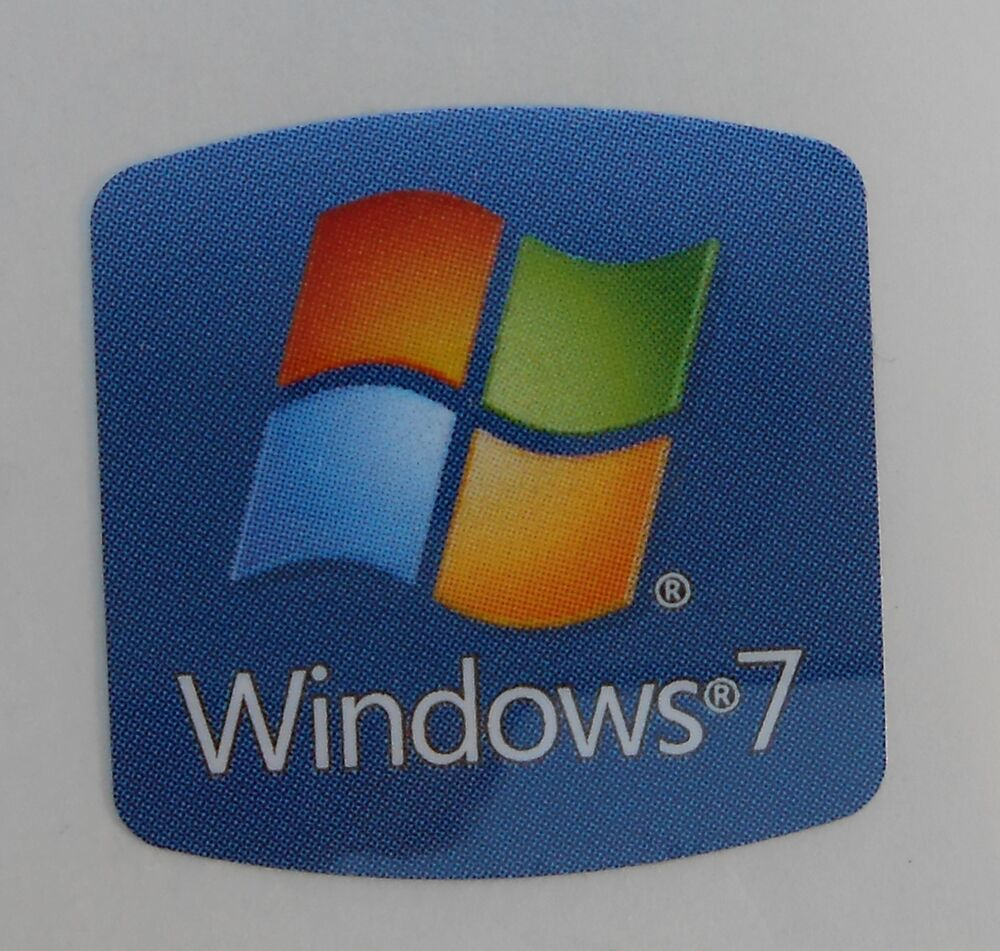 going out of business sale windows 7 replacement stickers badge logo decal ebay. Black Bedroom Furniture Sets. Home Design Ideas