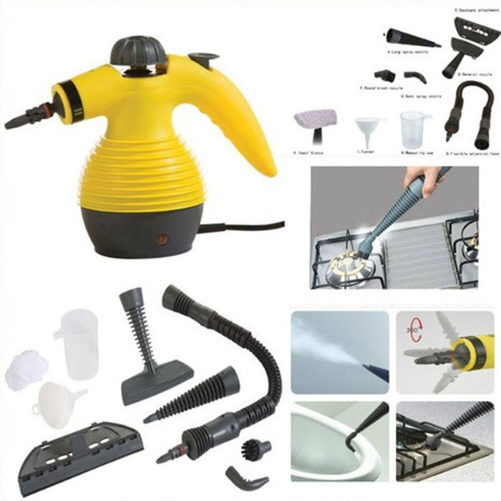 Electric Steam Cleaner Carpet Home Office Car Garments