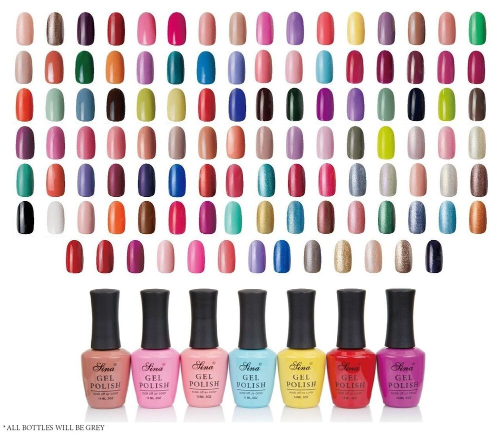 Gel Nail Polish Colors