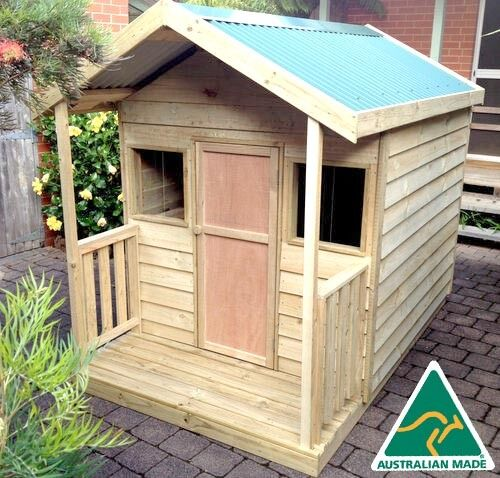The Quot Ruby Quot Outdoor Wooden Timber Kids Cubby House