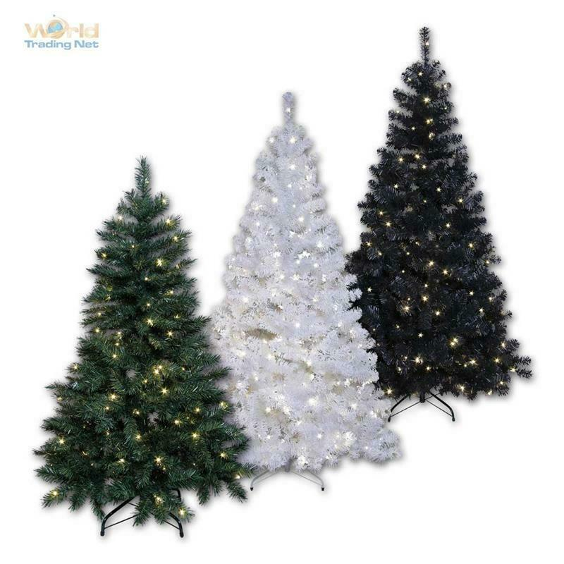k nstlicher led weihnachtsbaum christbaum mit leds beleuchtet f r innen au en ebay. Black Bedroom Furniture Sets. Home Design Ideas