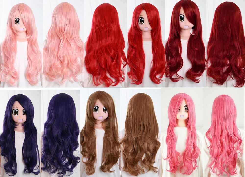 Red Wigs Real Hair