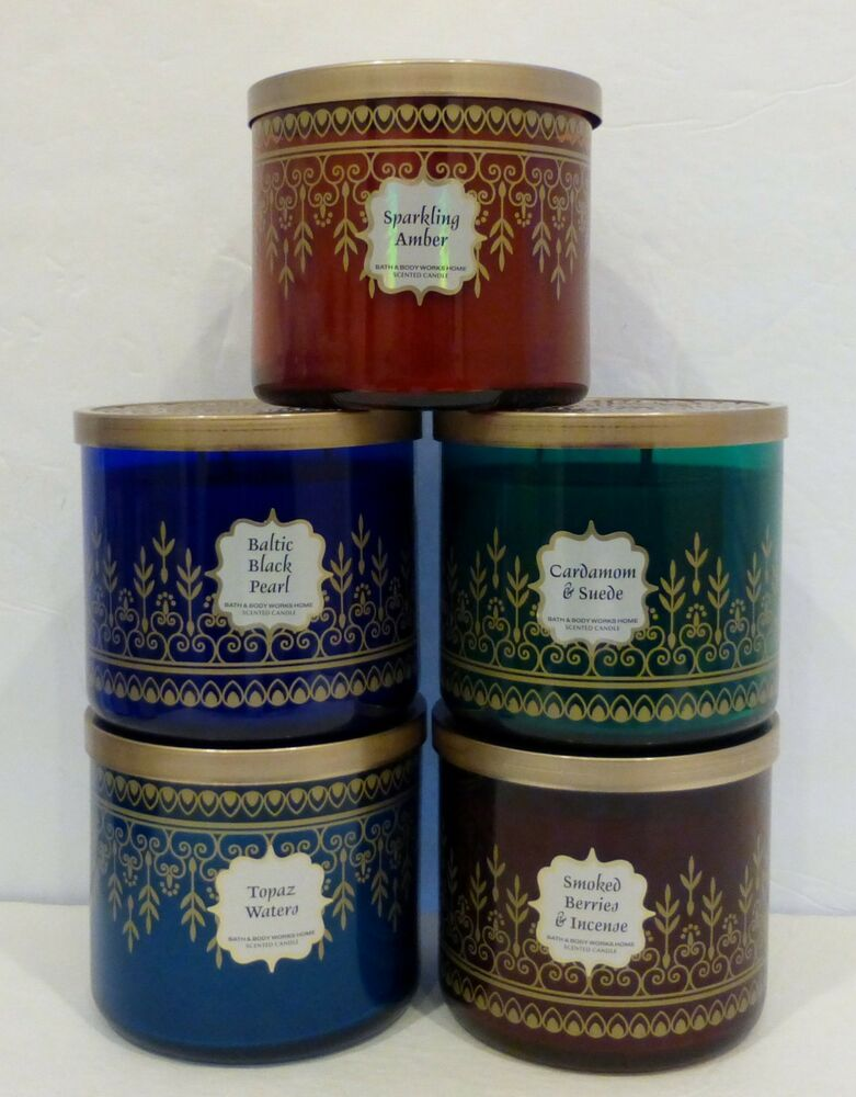 1 bath body works scented candle you choose 3 wick 14 5 oz ea new ebay. Black Bedroom Furniture Sets. Home Design Ideas
