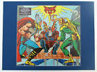 MIGHTY THOR v LOKI Pin up Print Frame Ready Marvel ODIN