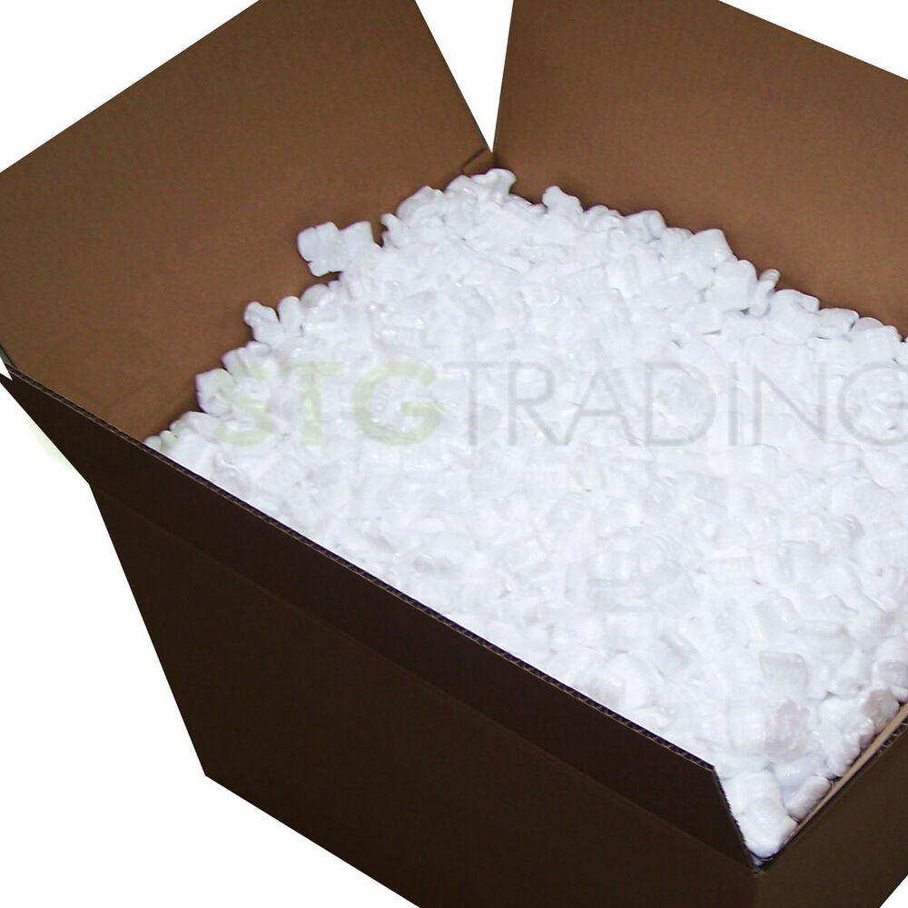 Loose fill packing peanuts s shape polystyrene chips 5 10 15 30 60