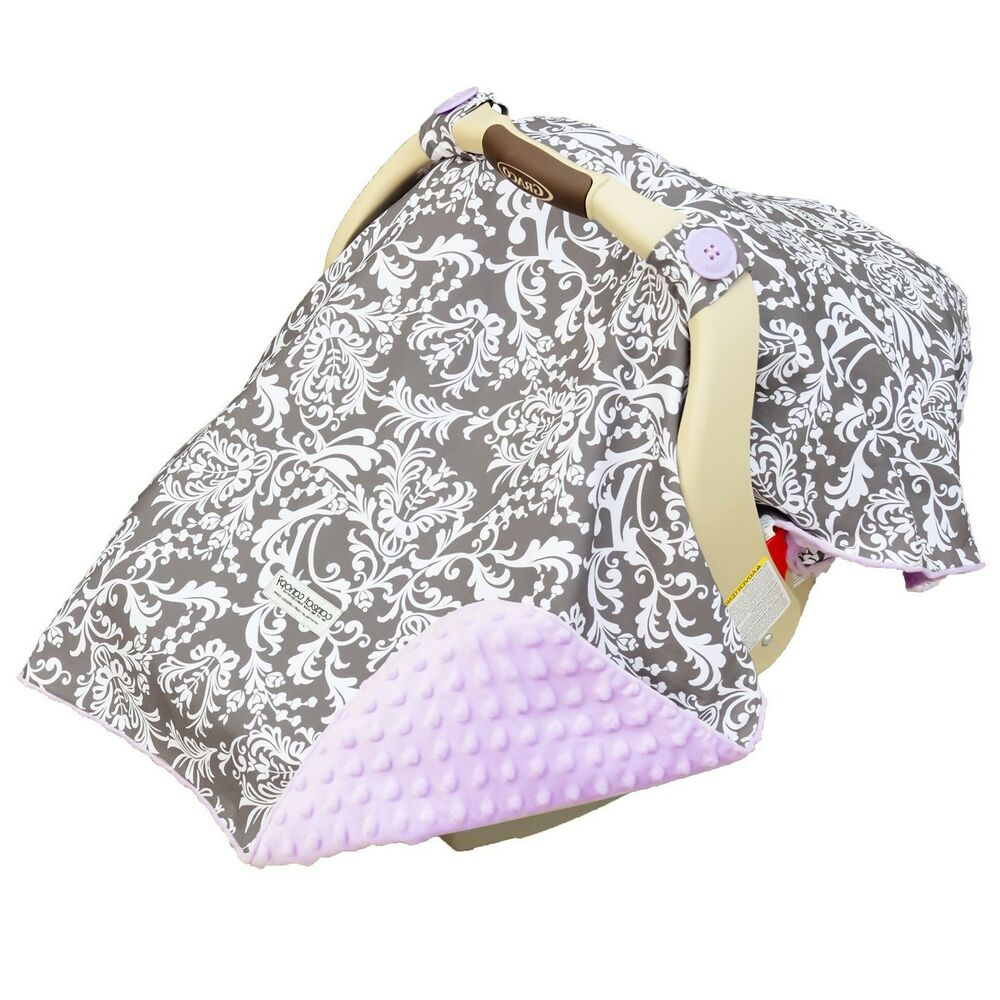 Infant Baby Car Seat Cover And Canopy