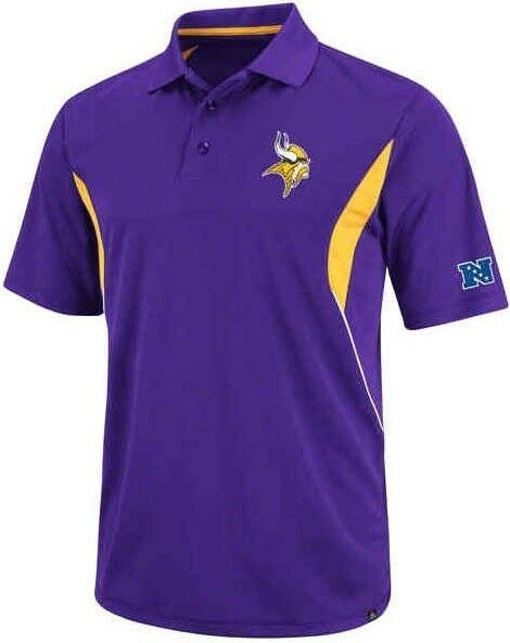 Minnesota Vikings Nfl Mens Field Classic Dri Fit Polo