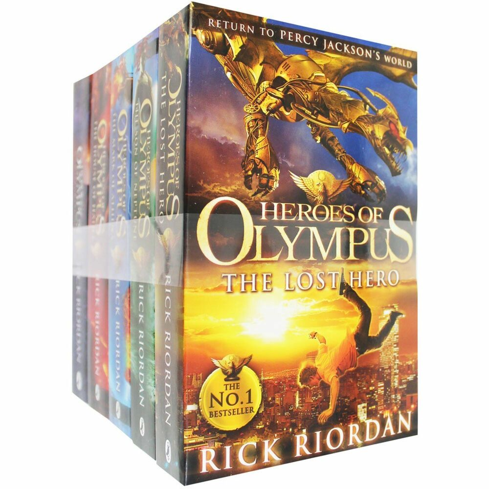 Heroes of Olympus Series Children 5 Books Collection Set ...