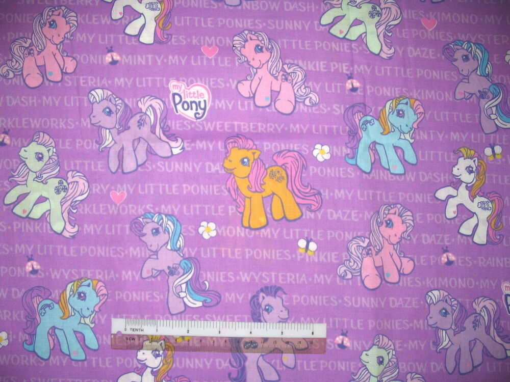 My little pony cotton quilting fabric choose design for Cotton quilting fabric