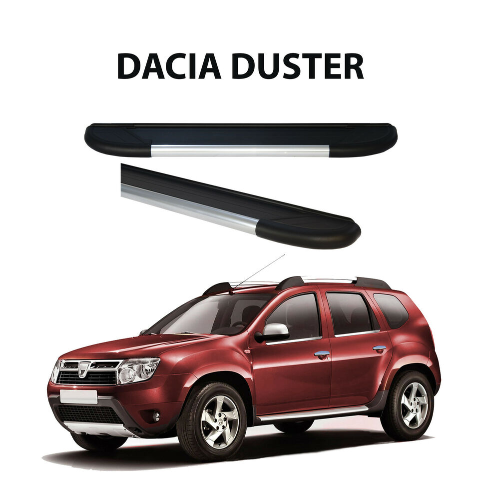 duster side step tube to fit dacia duster 2021981b aftermarket item ebay. Black Bedroom Furniture Sets. Home Design Ideas