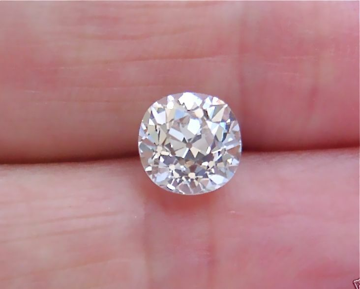 Loose 1 79ct Old Mine Diamond J Color Vs2 Clarity Gia Cert