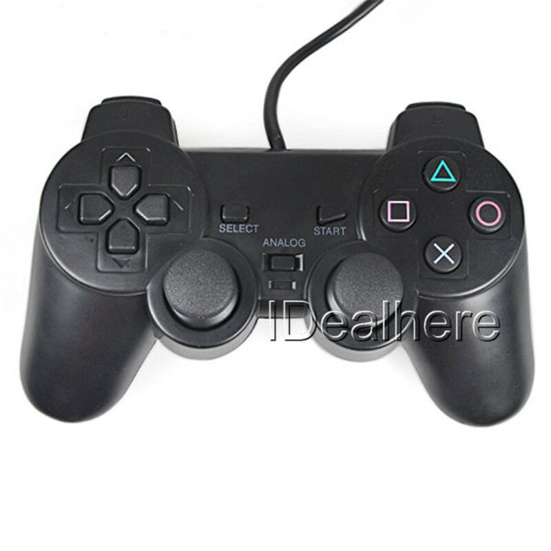 neu gamepad joypad controller mit dual vibration f r sony. Black Bedroom Furniture Sets. Home Design Ideas