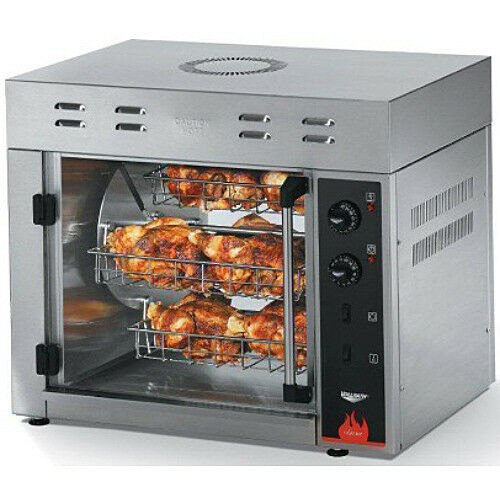 NEW VOLLRATH COUNTERTOP ELECTRIC ROTISSERIE OVEN 8 CHICKEN CAPACITY ...