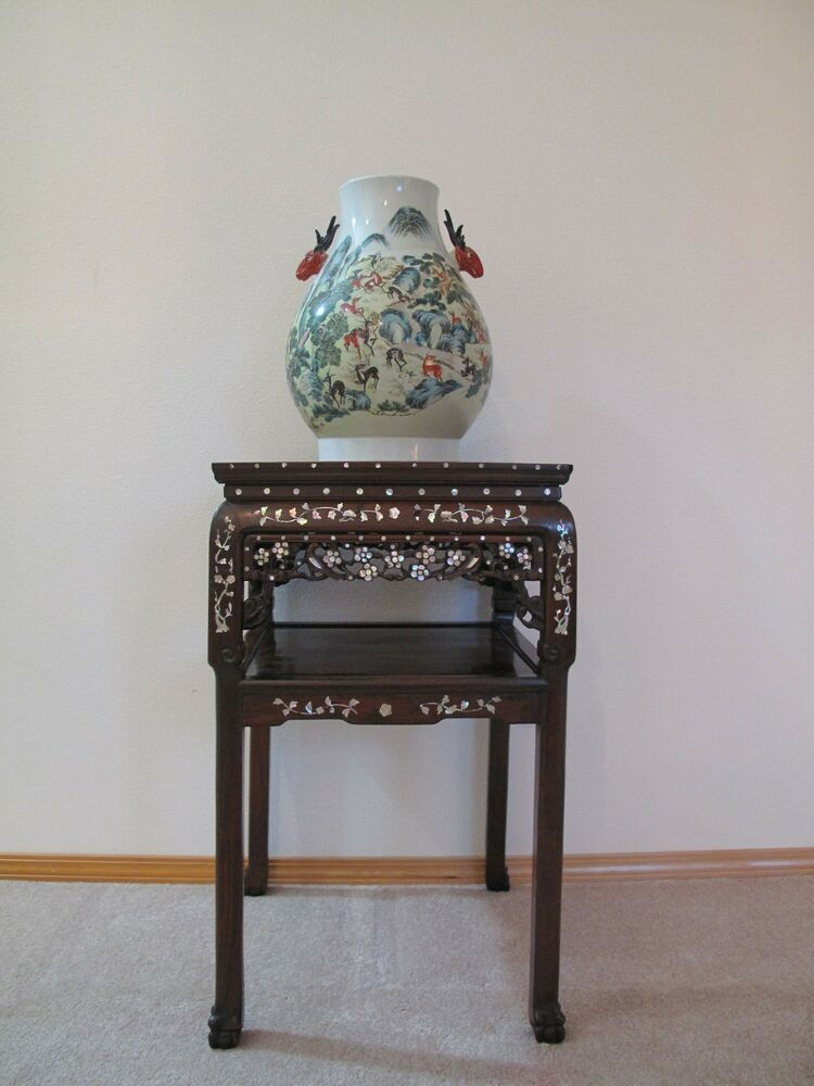 Very Fine 18 19th Century Qing Dyn Chinese Rosewood