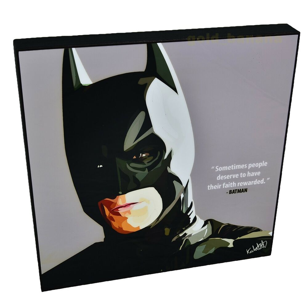 Marvel Wood Wall Decor : Batman dc comic marvel hero art home decor frame photo