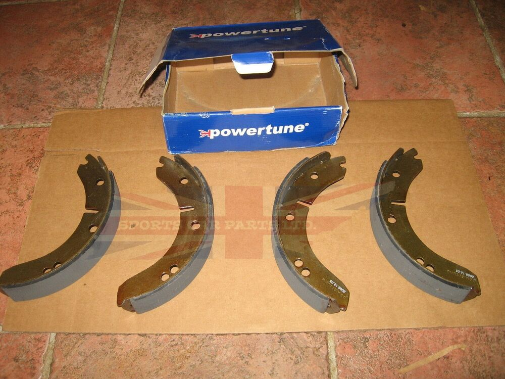 Lodal Front Axle Brake Shoes : Brand new brake shoe set for mg td tf shoes fits