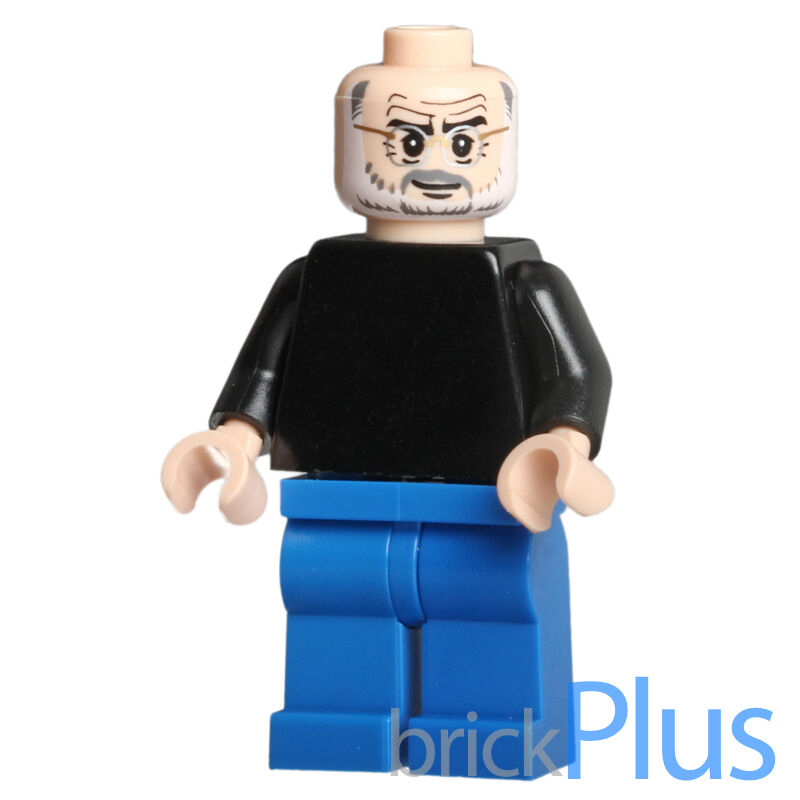 lego custom steve jobs minifigure apple ceo founder