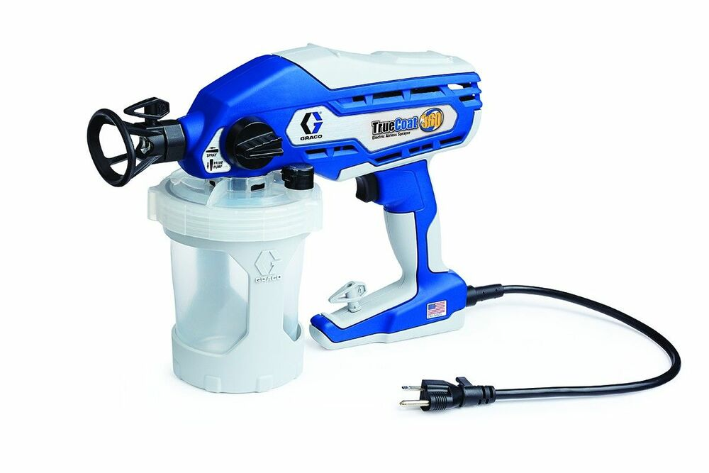 graco truecoat 360 electric airless handheld paint sprayer. Black Bedroom Furniture Sets. Home Design Ideas