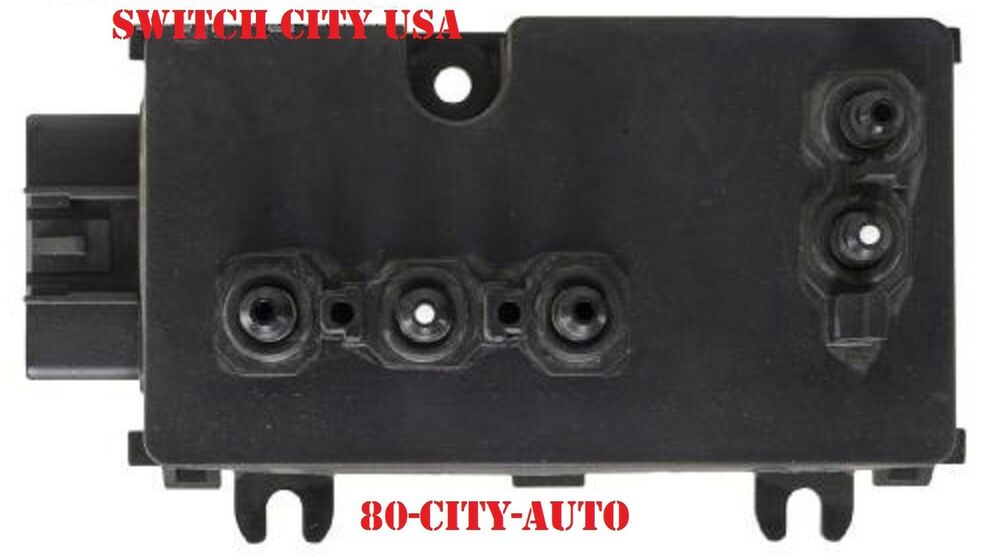 oem cadillac escalade cts sts driver left 8 way power seat switch 12450263 ebay. Black Bedroom Furniture Sets. Home Design Ideas