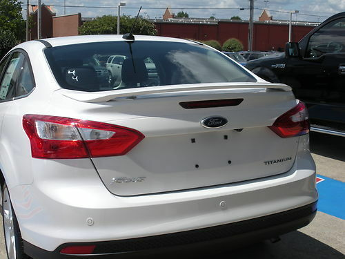 506 Primered Factory Style Spoiler Fits The 2012 2015 Ford Focus Sedan Ebay
