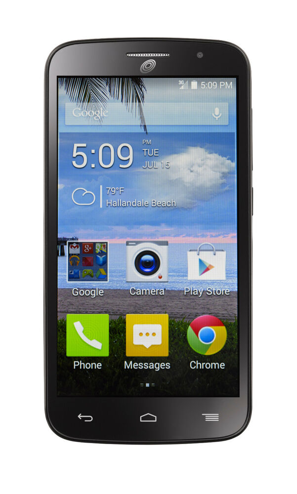 alcatel onetouch pop icon android smartphone w triple minute for tracfone new ebay. Black Bedroom Furniture Sets. Home Design Ideas