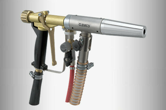 Clemco Power Gun Universal Suction Wet Blast Gun