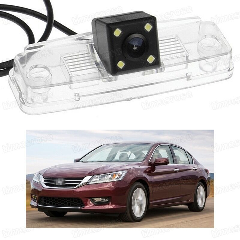 4 LED Car Rear View Camera Reverse Backup CCD Fit For