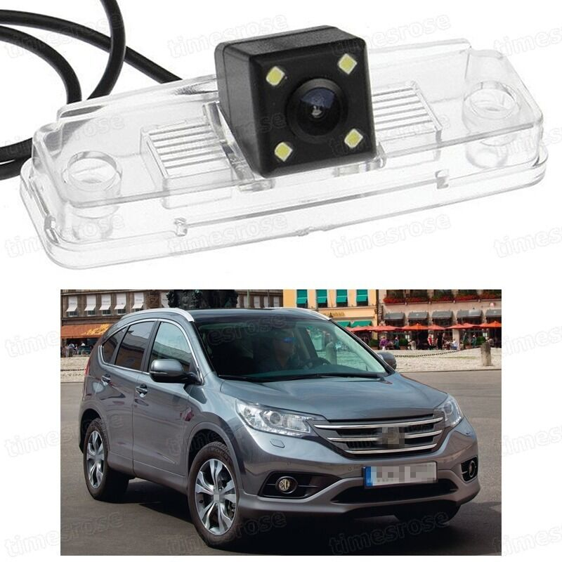 4 led car rear view camera reverse backup ccd for honda crv cr v 2012 2014 ebay. Black Bedroom Furniture Sets. Home Design Ideas