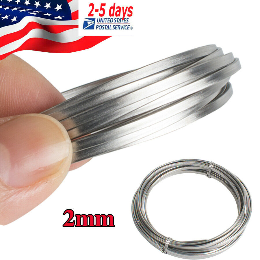 Flat Steel Cable : Dental flat stainless steel wire surgical instruments mm