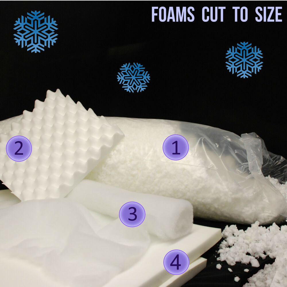 Fake snow decorations foam white display blanket