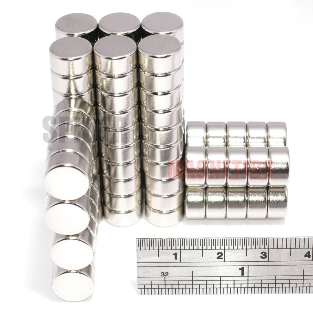 Magnets 10x5 mm neodymium disc bulk lot strong round neo for Small round magnets crafts
