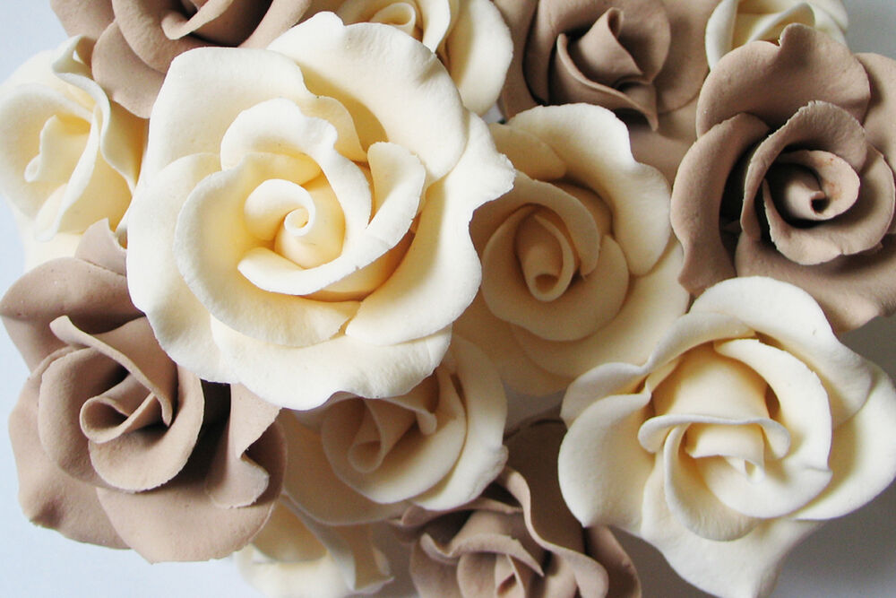 sugar flower wedding cake toppers sugar brand flower color wedding birthday aniversary 20579