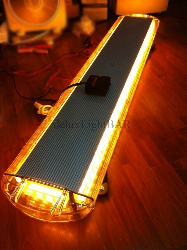 47 88 led light bar emergency beacon warn tow truck plow. Black Bedroom Furniture Sets. Home Design Ideas