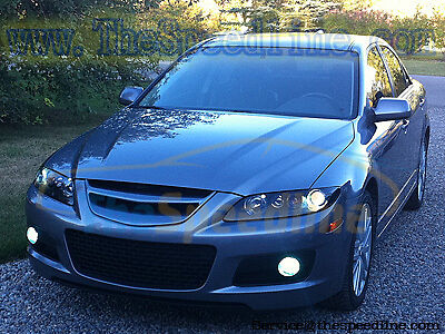 jdm mazdaspeed6 emblemless grill grille mps6 mps atenza. Black Bedroom Furniture Sets. Home Design Ideas