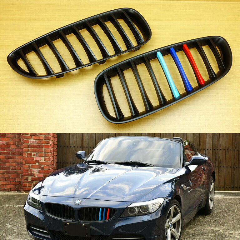 Matte Black M Color Bmw E89 Z4 Coupe Front Kidney