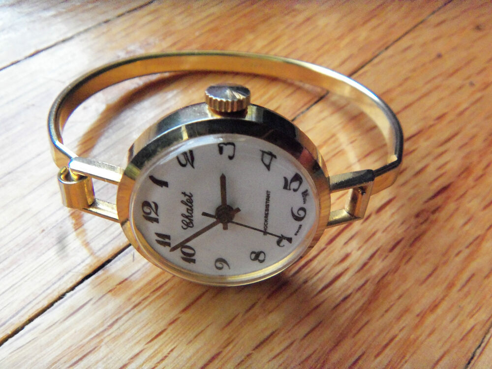 Chalet vintage shockresistant swiss made watch ebay for Swiss made watches