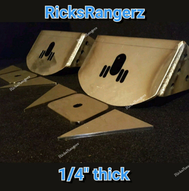 New Style Ford Ranger Front Air Bag Brackets Mounts I Beam
