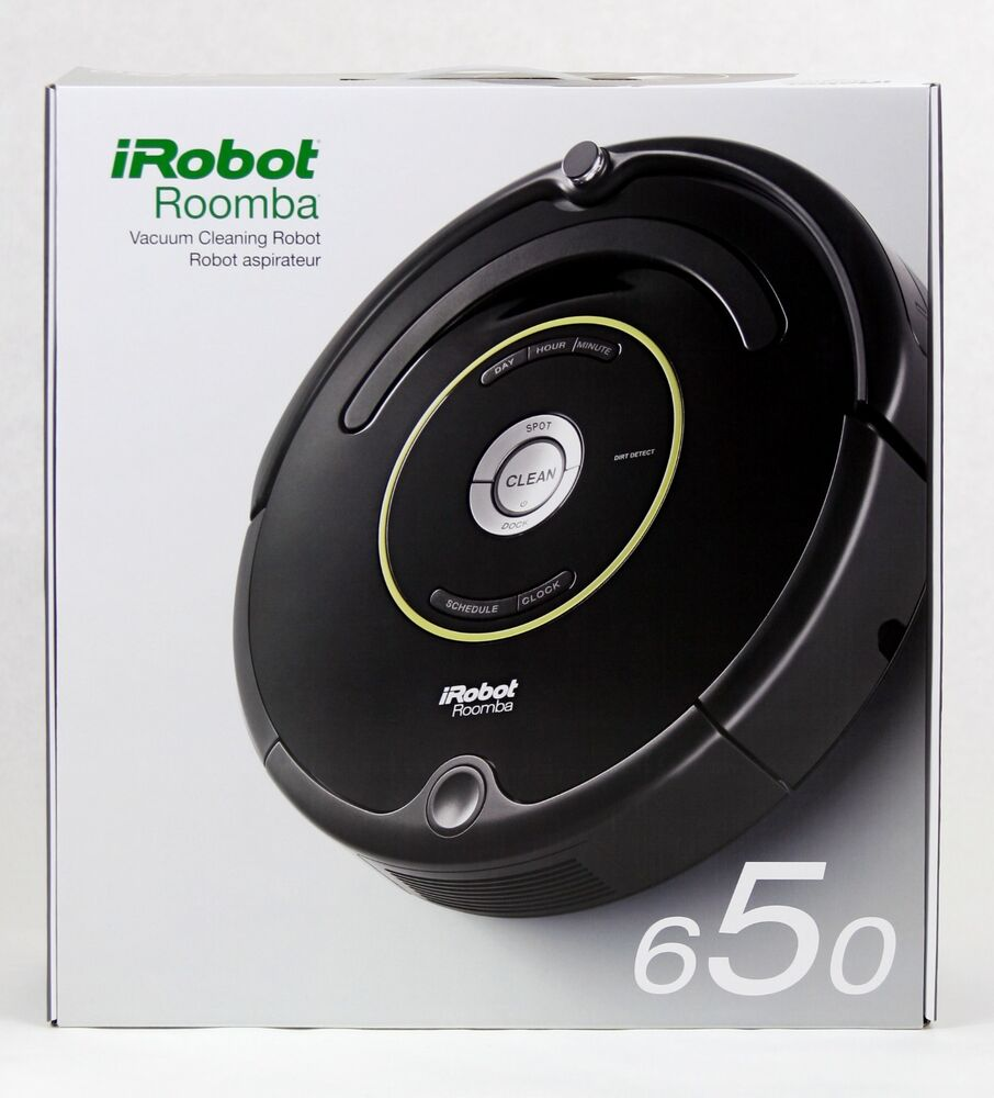 irobot roomba 650 robotic vacuum cleaner free ship usa. Black Bedroom Furniture Sets. Home Design Ideas