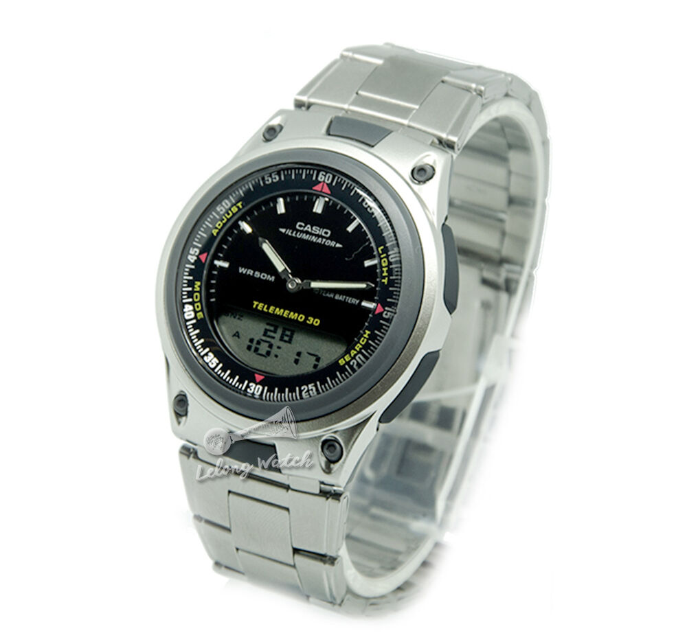 -Casio AW80D-1A Dual Time Watch Brand New & 100% Authentic ...