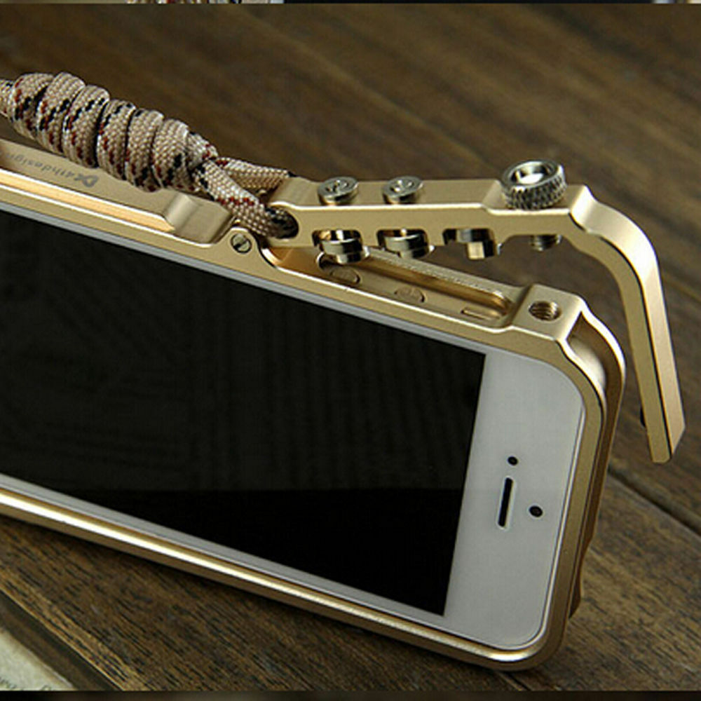 iphone 5s bumper case luxury aluminum metal button cleave frame bumper 14753
