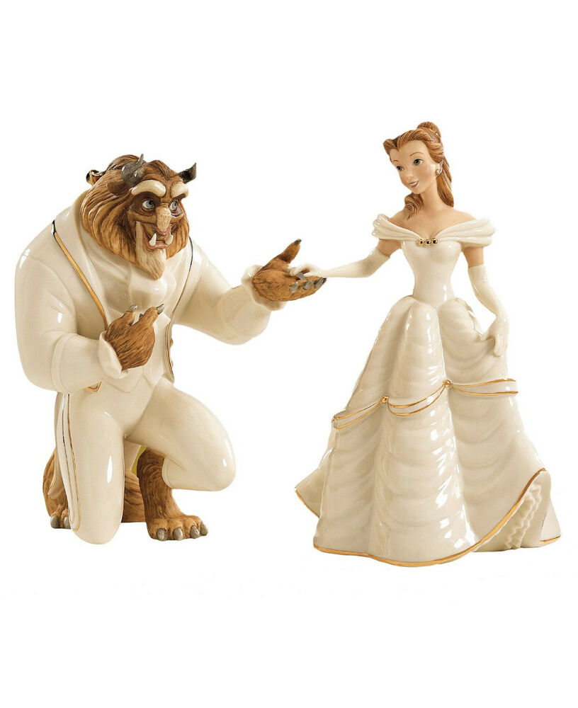 lenox disney beauty and the beast my hand my heart is yours belle figurines new ebay. Black Bedroom Furniture Sets. Home Design Ideas