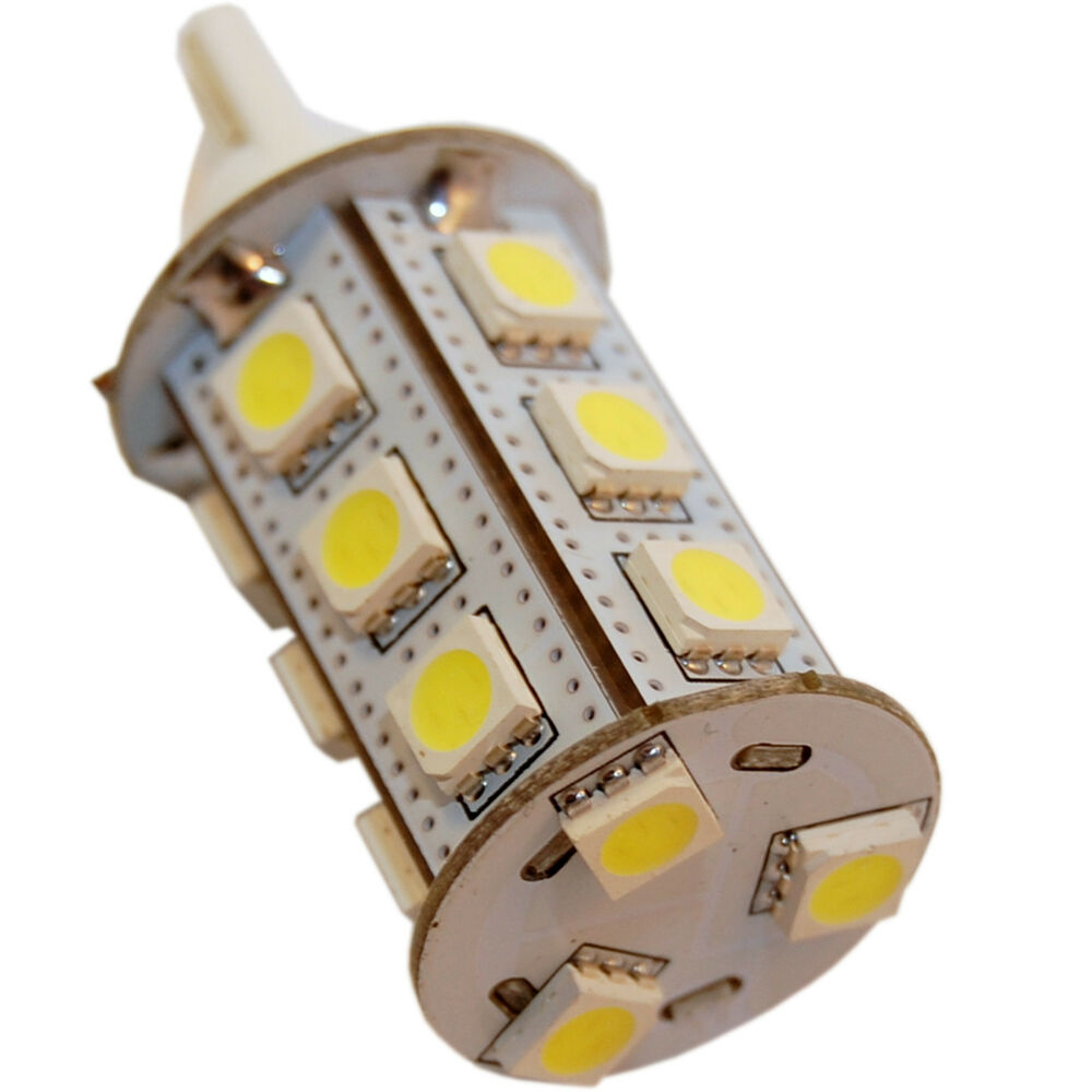 T10 Wedge Base 18 SMD LED Bulb Replacement for # 194, 921 ...