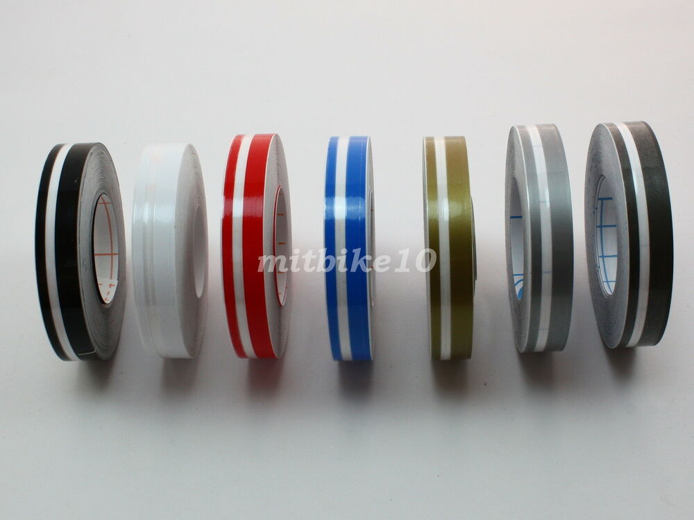1 2 Quot 12mm Bodywork Double Pin Stripe Striping Tape Decals