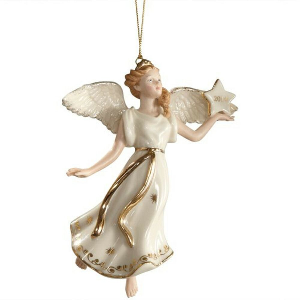Lenox annual angel ornament figurine wings of glory