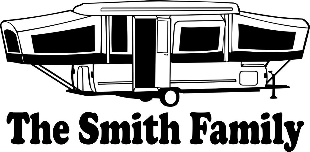 Travel Trailer Decals