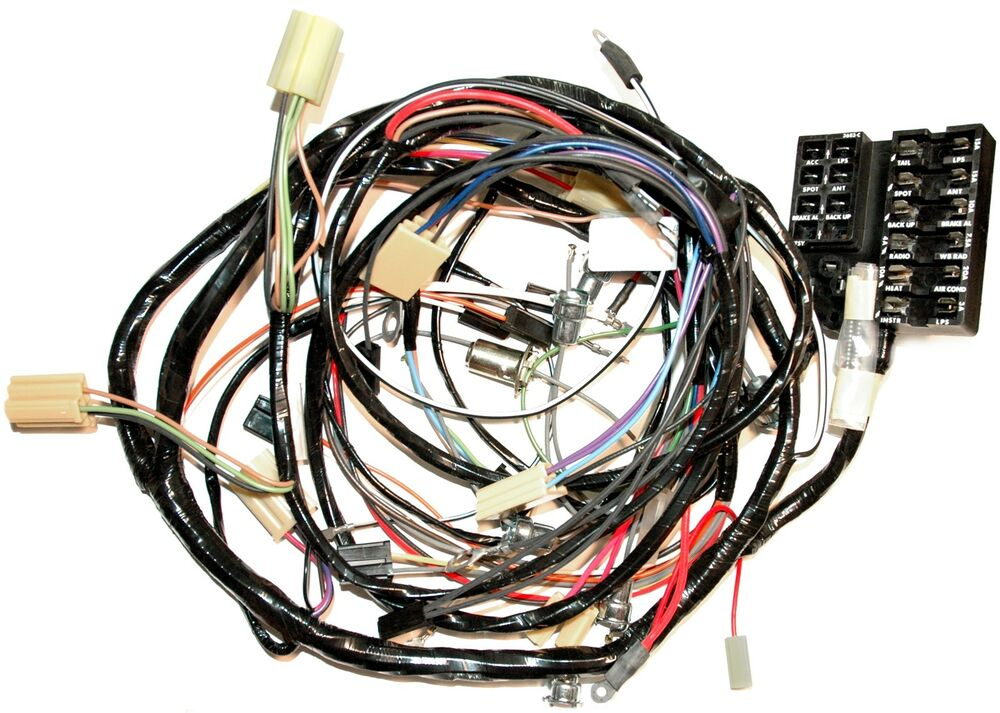 1962 Corvette Dash and Forward Lamp Wiring Harness. NEW ...