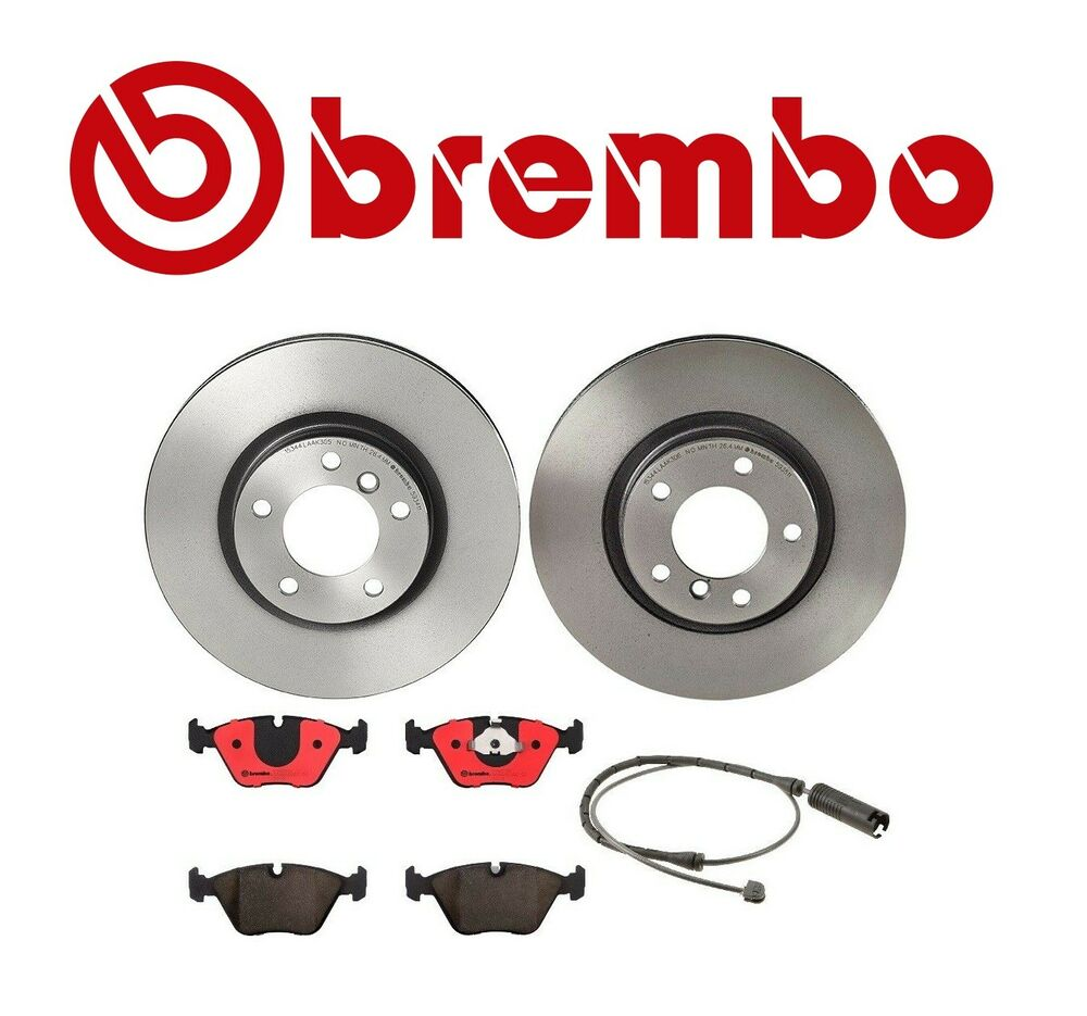 Bmw E36 M3 Z3 Front Brake Kit Brembo Rotors With Pads