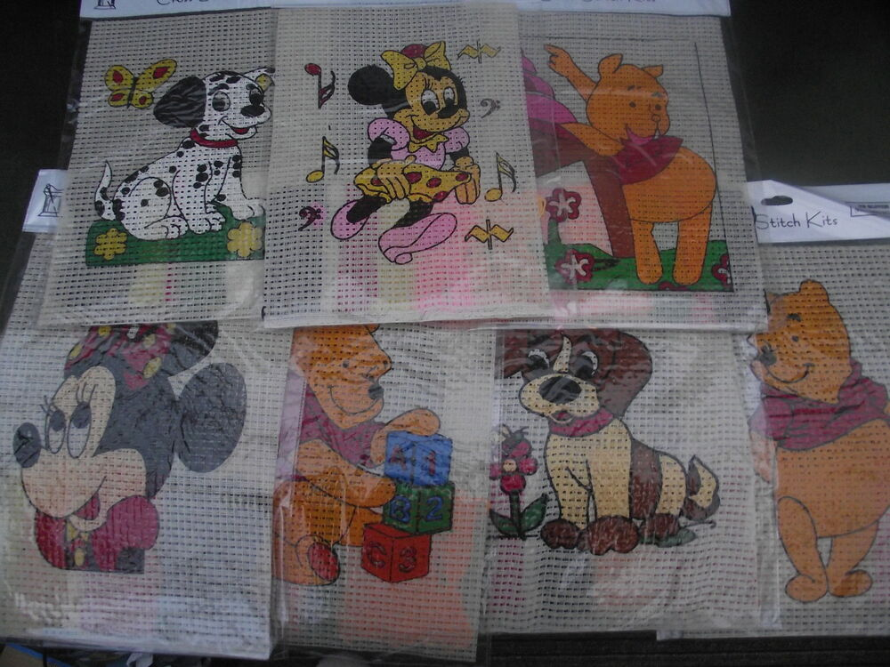 Cross stitch kits for children and beginners choice of