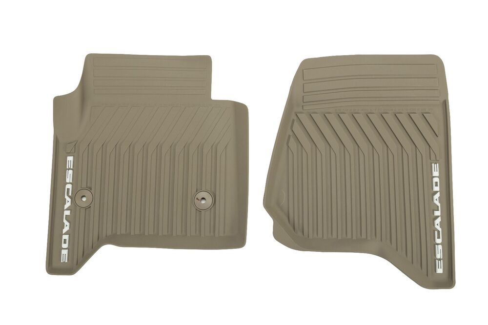 Gm Dune Front Premium All Weather Floor Mats Fits 2015